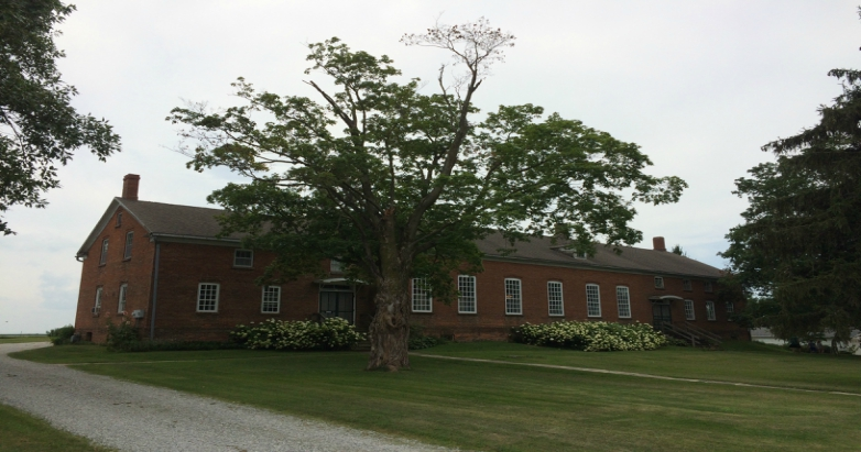 Amana church museum in Homestead, Iowa