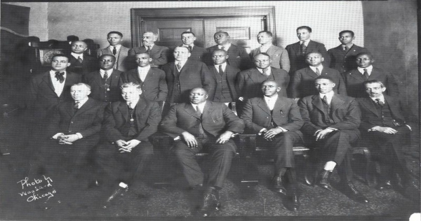 Rube Foster and other Negro National League owners in 1922