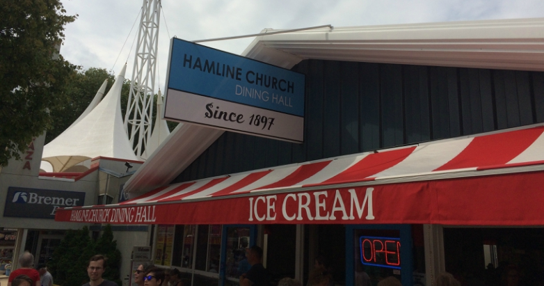 Hamline Church Dining Hall at the Minnesota State Fair