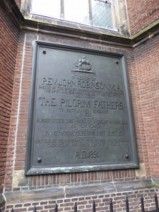 John Robinson, Burial Marker, Pieterskerk, Leiden