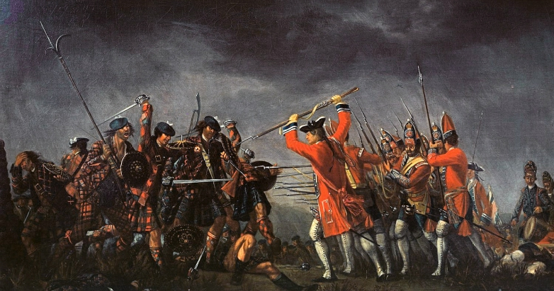 "Morier, ""The Battle of Culloden"""