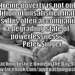 Extreme Poverty Peter Singer