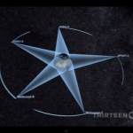 "the pentacle surrounding our planet : video capture ""Nova, Earth From Space"""