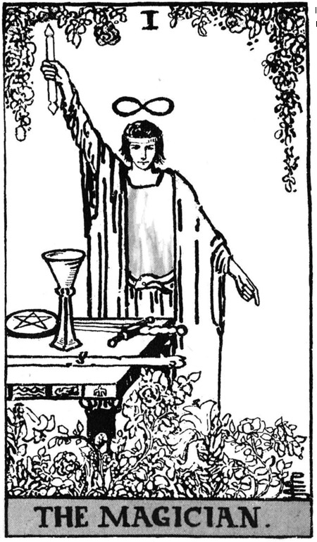 The Magician The World Rhyd Wildermuth