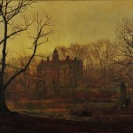 """In The Gloaming"" (Atkinson Grimshaw--1878)"