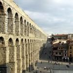Roman Aqueduct in Segovia, Spain (CC Manuel González Olaechea y Franco)