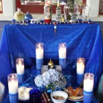 My Marie Laveau altar for St. John's Eve