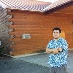 My son Noe at Rasa Winery in Walla Walla