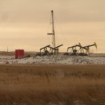 Bakken pumpjacks (photo by Paganarch)