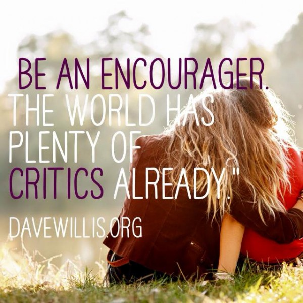 encourager quote