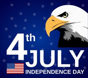 4th of July w eagle
