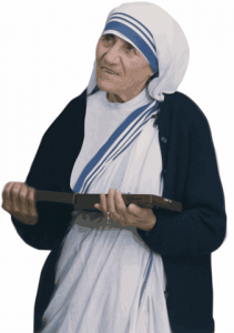 Jesus taught islam Hijab mother Teresa