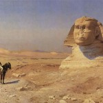Bonaparte Before the Sphinx by Jean-Léon Gérôme, 1867-68.