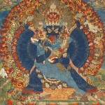 Thangka Depicting Vajrabhairava. By anonymus (Sotheby's) [Public domain], via Wikimedia Commons