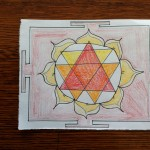 I drew Kali yantras and used them to ward my house. I'll be doing something different for my hotel room.