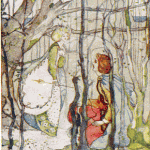 By Katharine Cameron, 1908, from Thomas the Rhymer.
