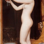 'Venus Binding Her Hair' John William Godward.