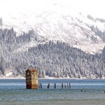 Gastineau Pumphouse in Winter, by Gillfoto, Wikimedia Commons.
