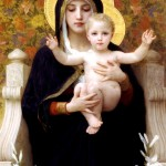 Madonna of the Lillies, William-Adolph Bouguereau, 1899
