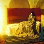Henry Ossawa Tanner, The Annunciation