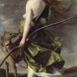 Diana the Huntress by Orazio Gentileschi (via Wikimedia Commons)