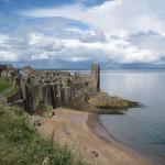 Ruins of St. Andrews Castle, St. Andrews, Scotland