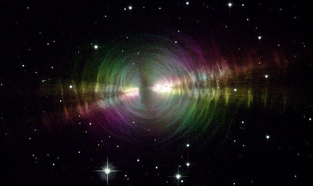 Egg Nebula, Hubble Telescope