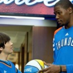 Presser: Kevin Durant and the 'Thunderstruck' Cast Talk Great Sports Movies and the Importance of Family