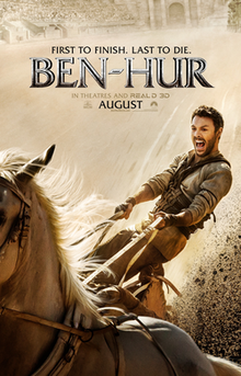 """A Brave New """"Ben-Hur"""" Charges Into Theaters August 19th"""
