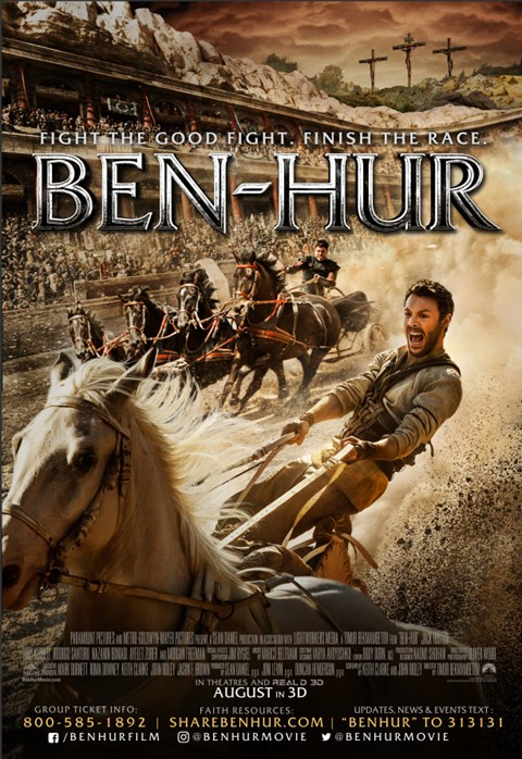 """Prayer Woven Into the Fabric of the Film"": A Q&A with Ben-Hur's Roma Downey and Mark Burnett"