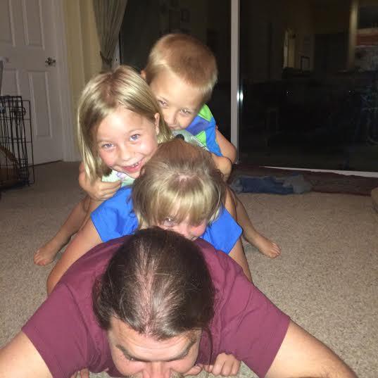 kids pile