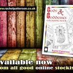Gods & Goddesses colouring book…get yer crayons out