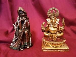 The Cailleach & Ganesha mix n match deities
