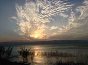 Sundown over Galilee (my pic)