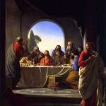 Carl Bloch's Last Supper, public domain
