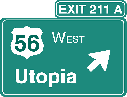 sign-car-information-exit-driving-travel-utopia
