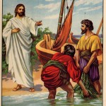 jesus and four fishermen