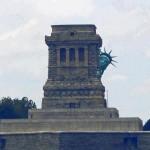 Lady Liberty Dodges  Sandy