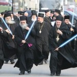 Priests with Light Sabres????
