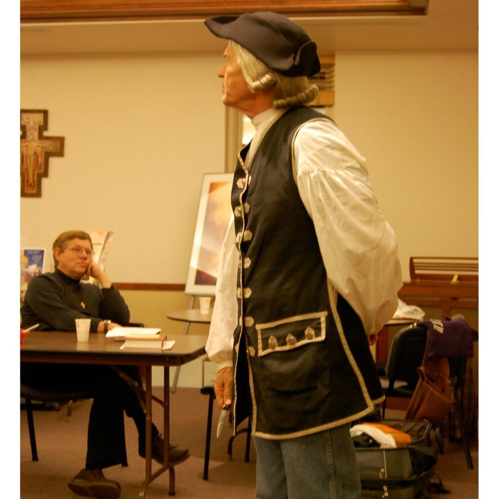 #5 John Wesley at Ad Lib Retreat
