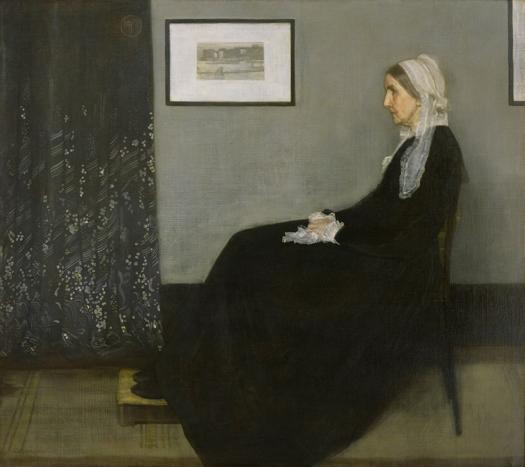 his  Ben Whistler, Mother, | Art the at Institute without