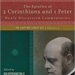 It's Here!  Lightfoot on 2 Corinthians and 1 Peter