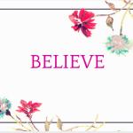 The Work of Belief
