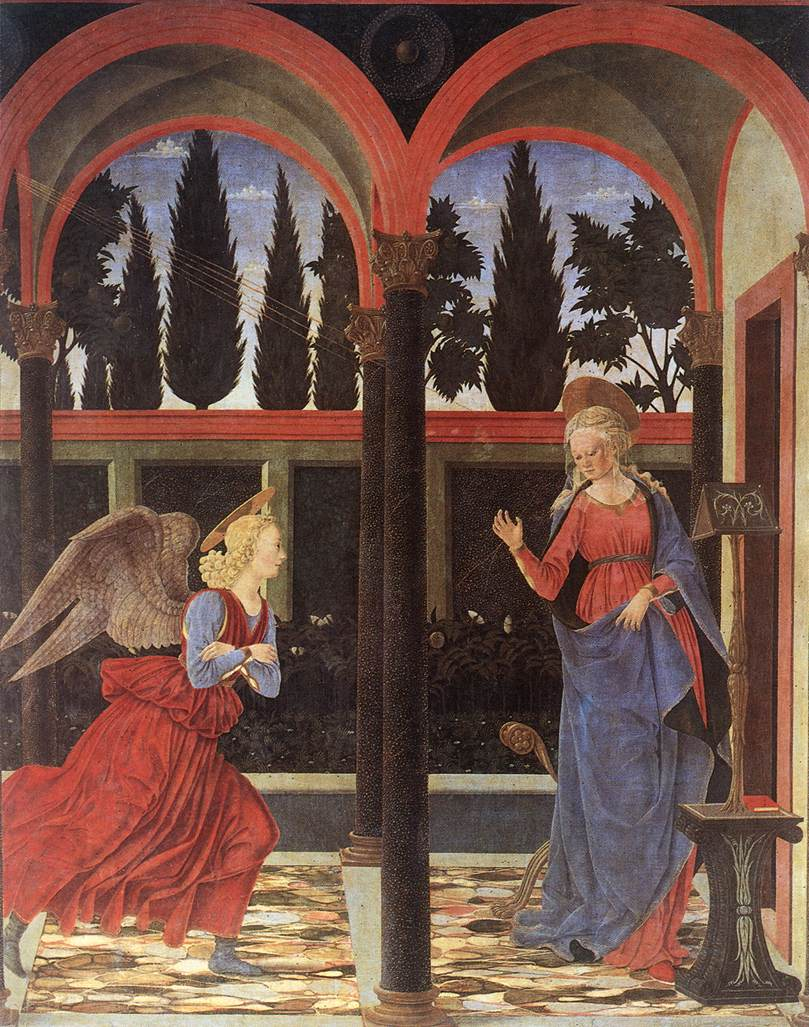 Interrogatio – Alesso Baldovinetti, Uffizi Panel