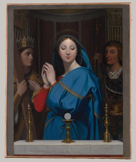 Virgin Adoring the Host
