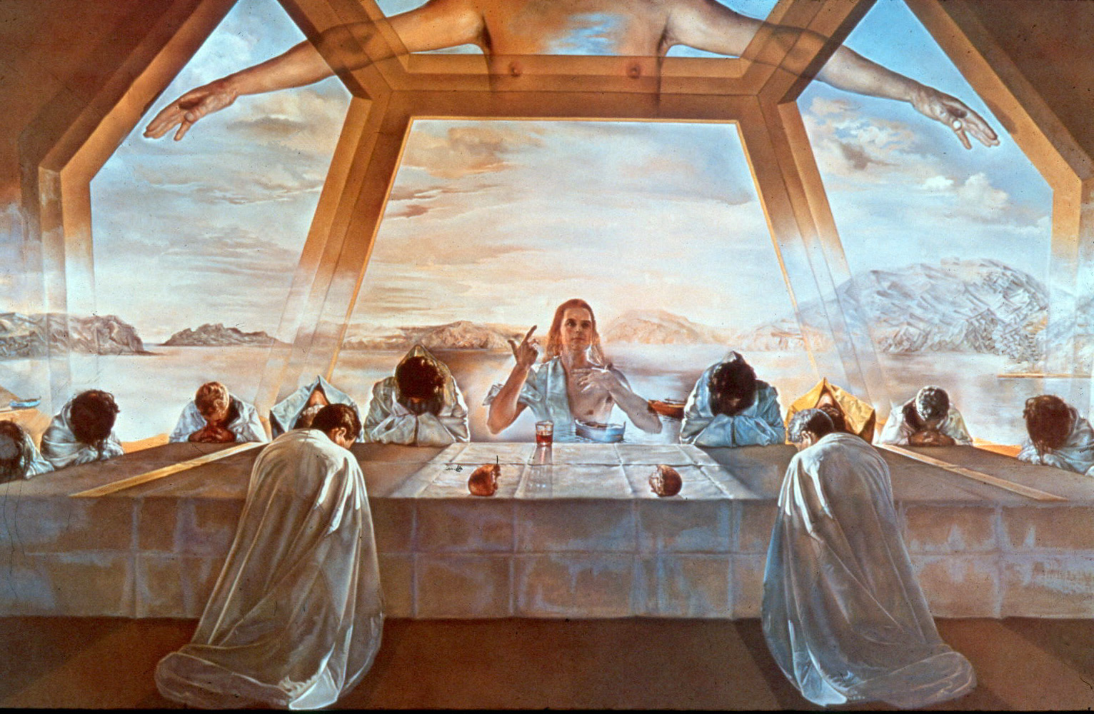 https://en.m.wikipedia.org/wiki/File:Dali_-_The_Sacrament_of_the_Last_Supper_-_lowres.jpg