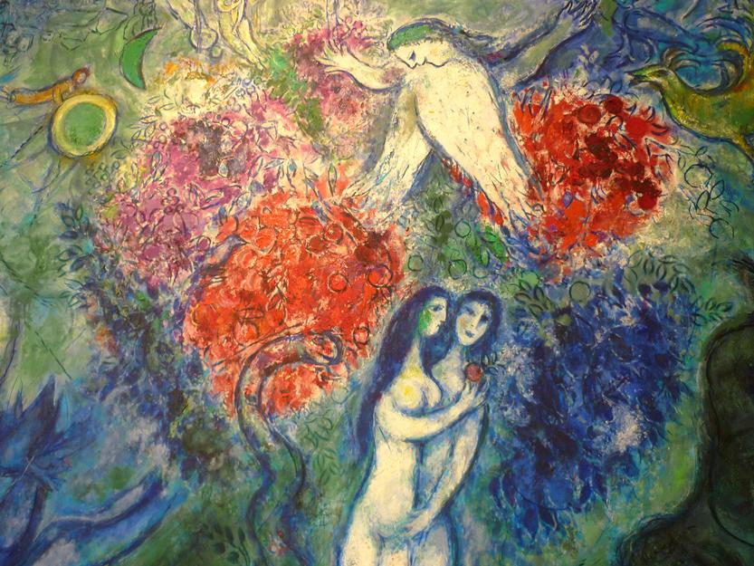 Eden - The Bite in the Apple Chagall Bijbel
