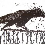 ADvent 1 Rook, by Susan Smith, image on broughtonspurtle.org.uk page