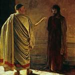 Pentecost 28 1890 What Is Truth - Christ Before Pilate Ge, N. N. (Nikolaĭ Nikolaevich), Moscow. Vanderbilt