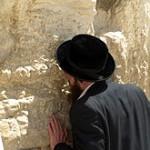 Pentecost 28 -A_man_prays_at_the_Western_Wall_in_Jerusalem Wikipedia Western Wall page.
